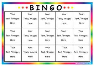 bingo template editable bingo card templates k 3 resources