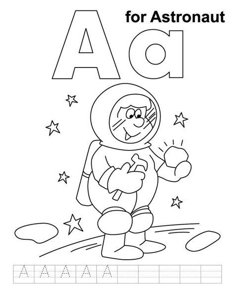 alphabet soup coloring page astronaut coloring pages for preschool astronaut