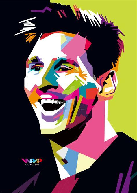 Football Artwork Messi 1 lionel messi in wpap by rioarfaza on deviantart