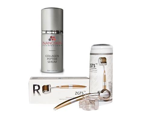 derma roller brands best derma rollers products online store zgts derma roller nanoskin collagen peptide serum combo