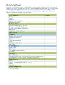 Party Planning List Template Event Planning Checklist Template Free Microsoft Word