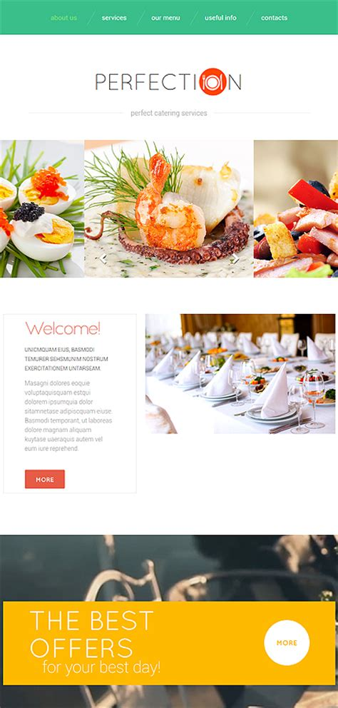 Food Delivery Services Website Template Website Templates Grocery Delivery Website Template