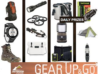 Outdoor Channel Giveaway - outdoor channel outdoor gear daily giveaway 31 winners win yeti coolers kayaks