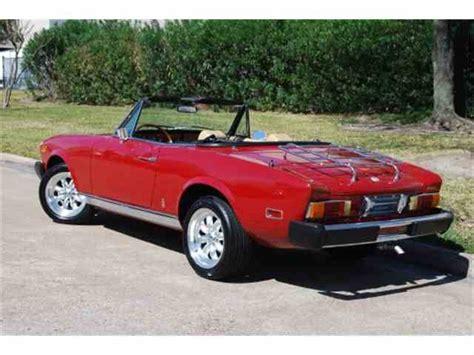fiat spider 1978 1978 fiat spider for sale classiccars com cc 728395