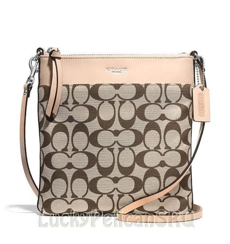 coach swing pack coach 51055 legacy ns swingpack messenger crossbody