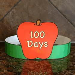 100th day hat template 100 days of school hat paper craft