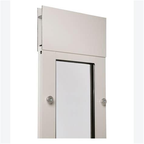 Patio Panel Pet Door Endura Panel Iii Small Patio Pet Door Panel