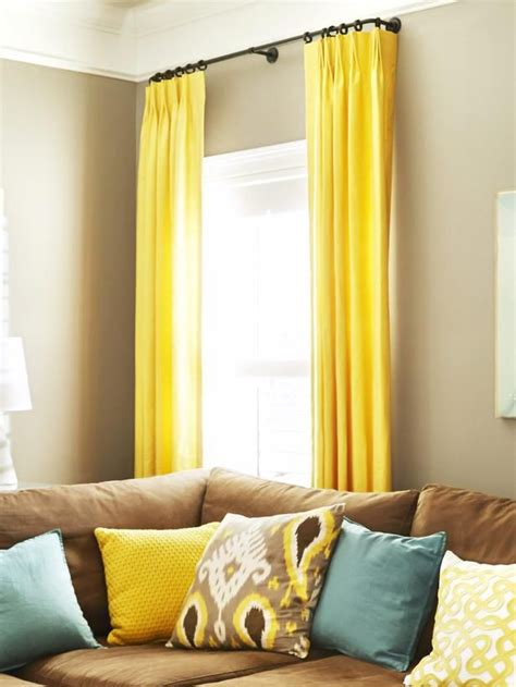 yellow curtains for living room pinterest the world s catalog of ideas