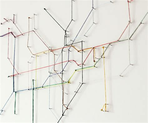 String Map - metro map colored strings map xcitefun net