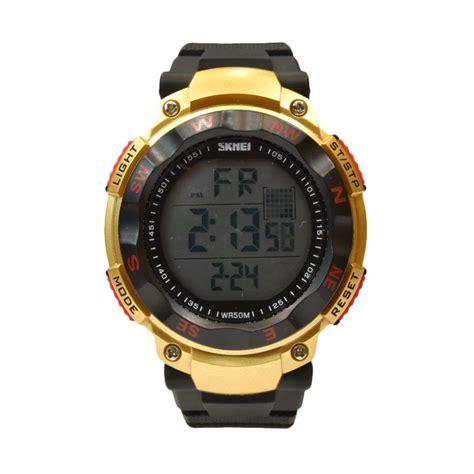 Diskon Jam Tangan Pria Sl1176 Black harga skmei 1127blk jam tangan pria black diskon 7