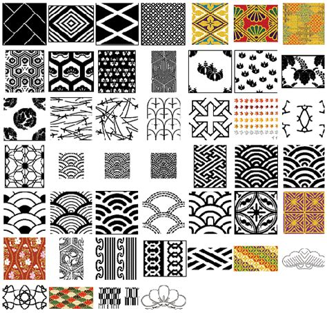 japanese pattern vector download vector japanese patterns