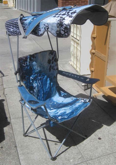 Fold Up Chair With Canopy by Uhuru Furniture Collectibles Sold Pair Of Fold Up Chairs With Canopy 25 Each