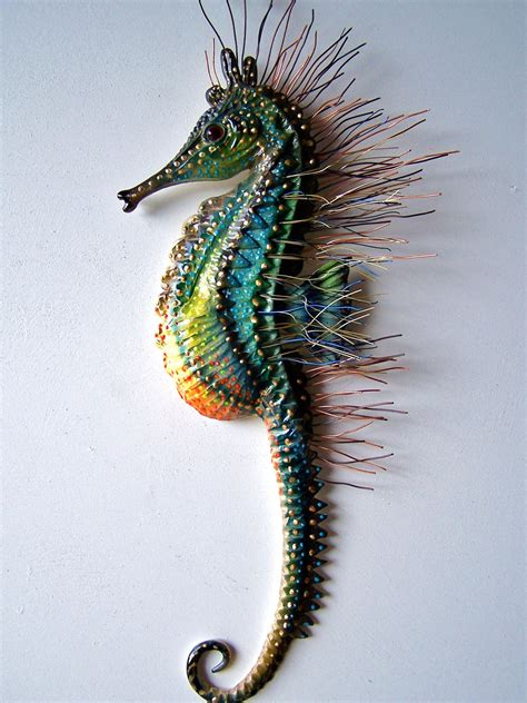 statues and sculptures home decorating seahorse art wall decor seahorse sculpture wall art