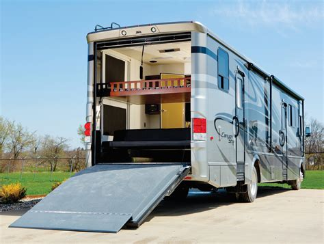 Motorhome With Garage by Motorhome Toy Haulers