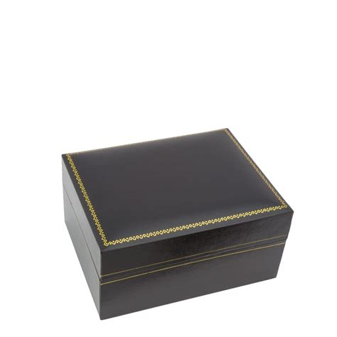 Buy Pillow Boxes by Buy 5 Inch Black Box With Black Pillow And Gold Trim