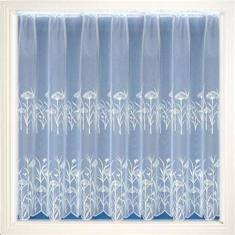 Lancashire White Net Curtain Net Curtain 2 Curtains