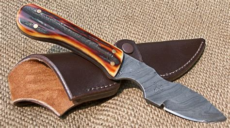 sheath for knives leather slip knife sheath with snap for hartsook skinner 169