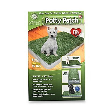 potty patch buy potty patch small indoor washroom for dogs from bed bath beyond