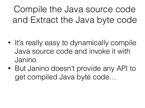 visitor pattern compile how to generate jar file dynamically compiling java code