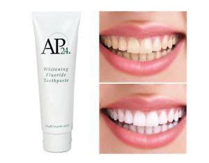 New A P 24 Whitening Toothpaste Pasta Gigi Pemutih Gigi nu skin ap 24 nuskin ap24 whitening fluoride toothpaste 110g 4oz genuine sealed ebay