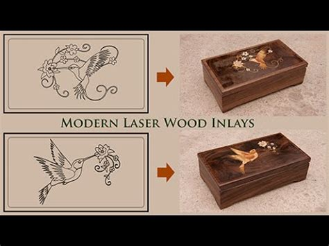 woodworking laser modern laser marquetry and wood inlay technique