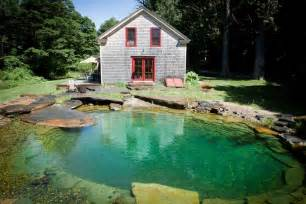 Natural Pool by Natural Pool In The Back Of The House Looks Better Than