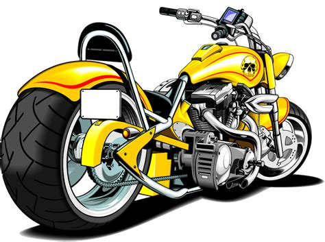 clipart motorcycle harley davidson clipart transparent pencil and in color