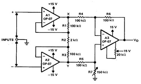 integrated circuit differential lifier noninverting lifier schematic lifier band elsavadorla