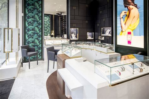 interior designers to watch jewelry store s sophisticated interior design commercial