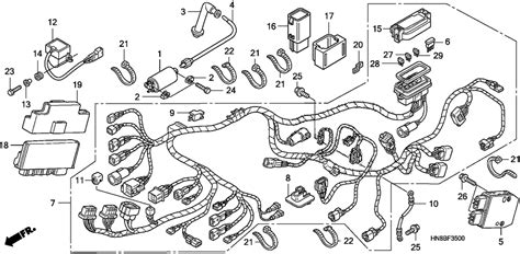 honda rincon wiring diagram honda automotive wiring diagrams