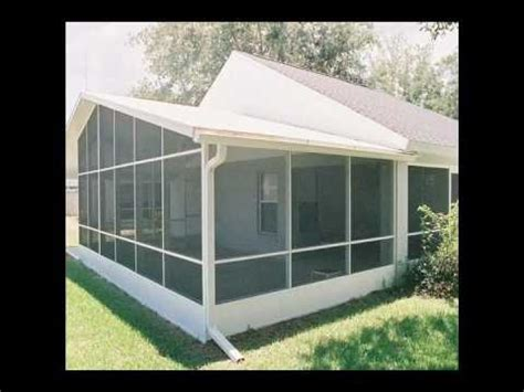 Aluminum Screen Room Kits by Screen Room Orlando Screen Porch And Patio Sunroom
