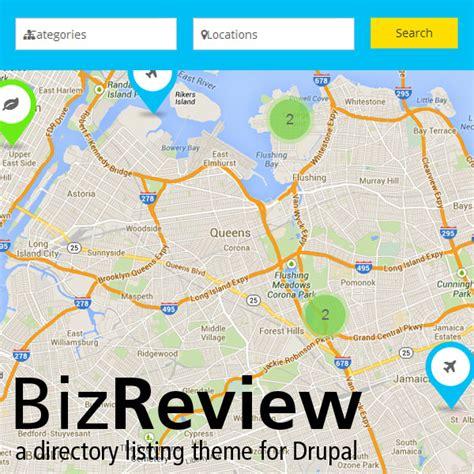 drupal themes directory bizreview directory listing drupal theme