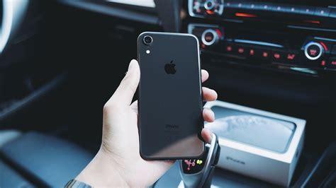 iphone xr black impressions