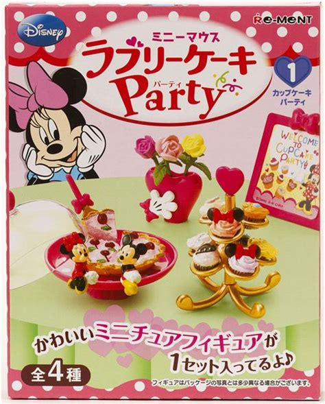 Re Ment Mickey Minnie Chaya Box No 1 minnie mouse re ment box lovely cake set 1 cupcakes