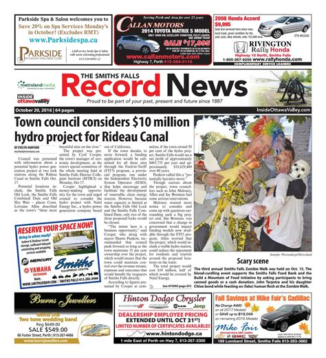 smithsfalls09112014 by metroland east smiths falls smithsfalls102016 by metroland east smiths falls record