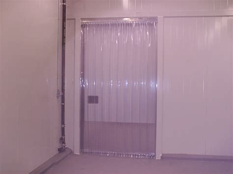 cooler curtains cooler and freezer strip doors strip curtains com