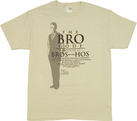 To A I T Met how i met your bro code t shirt