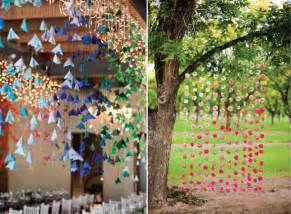 hanging decorations for home wedding streamer and hanging decor venue safari