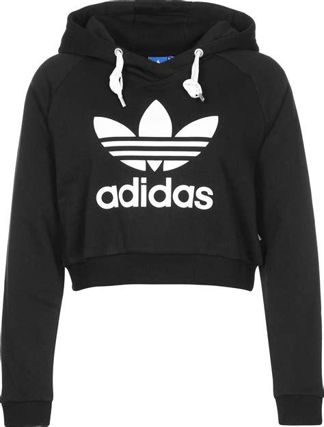 Crop W by Adidas Crop W Hoodie Schwarz