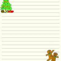 Free Christmas Writing Paper Christmas Writing Paper