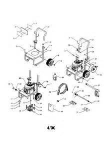 Honda Pressure Washer Parts Diagram Craftsman Pressure Washer Parts Model 580768341 Sears