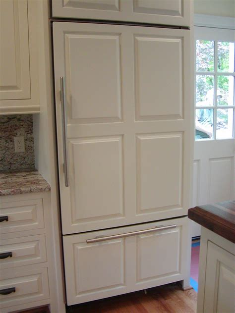 J S Cabinets by Beautiful Cabinet Front Refrigerator On Refrigerator Door