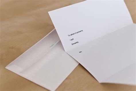 Resignation Letter Lifehacker resignation letter flickr photo