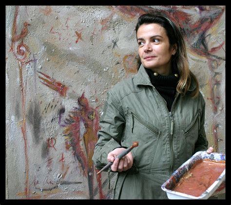 portrait de marianne avec 1549505459 l agora des arts la galerie d agora marianne le vexier peintre