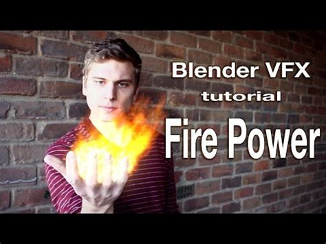 tutorial blender vfx blender vfx masking tutorial fire power youtube