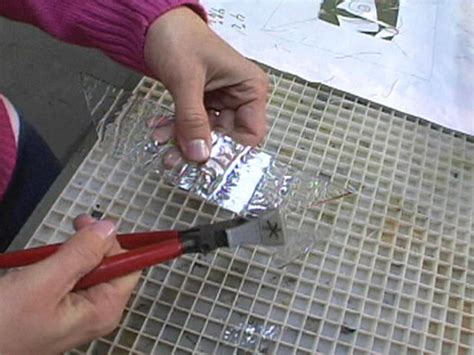 how to make glass how to make stained glass hgtv