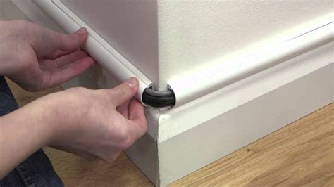 baseboard conduit d line cable cover above baseboards skirting intro clip