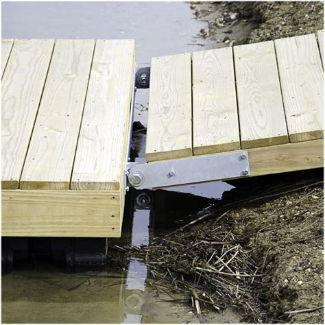homemade boat dock bumpers create a diy 4x6 gangway dock supplies ladders