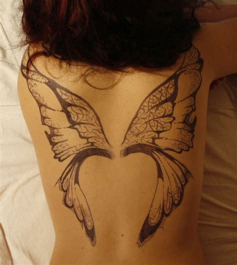 butterfly wings tattoo images by barrett