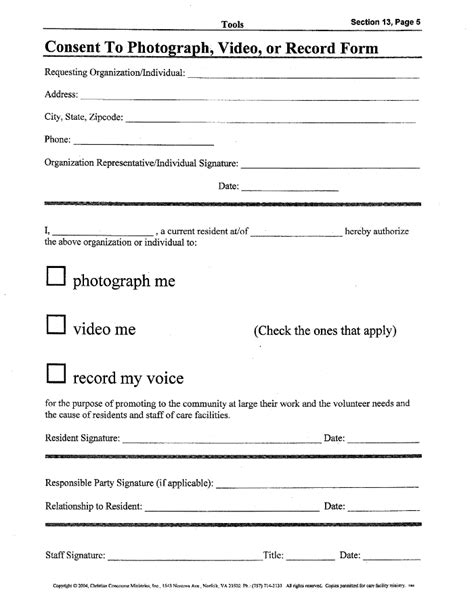 photography permission form template consent release form template image gallery imggrid